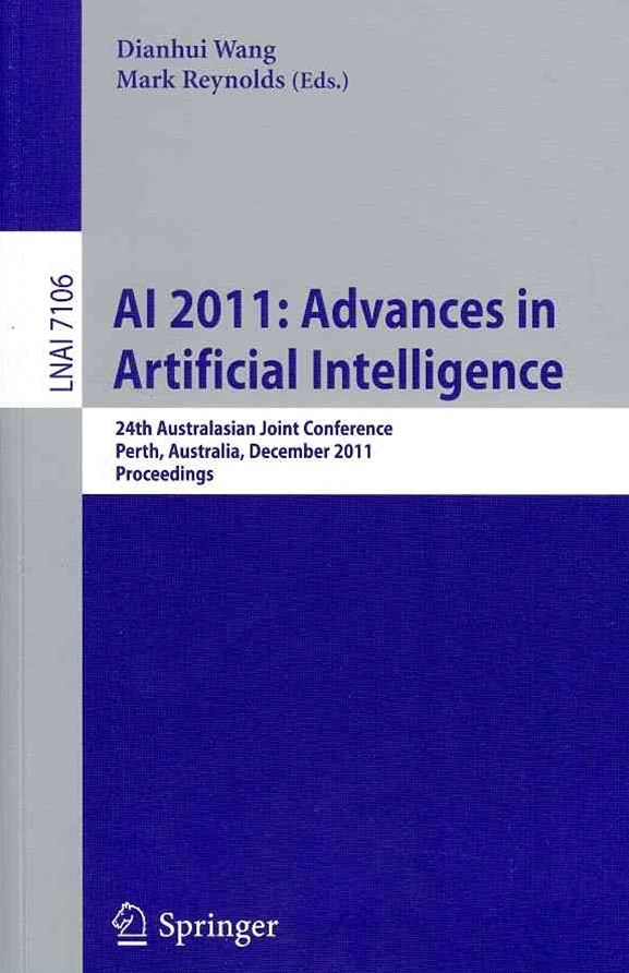 Ai 2011: Advances in Artificial Intelligence