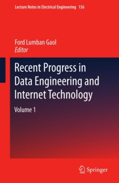 (ebook) Recent Progress in Data Engineering and Internet Technology