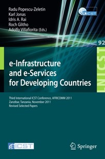 (ebook) e-Infrastructure and e-Services for Developing Countries - Business & Finance Management & Leadership