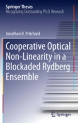 Cooperative Optical Non-Linearity in a Blockaded Rydberg Ensemble
