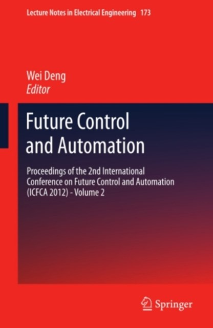 (ebook) Future Control and Automation