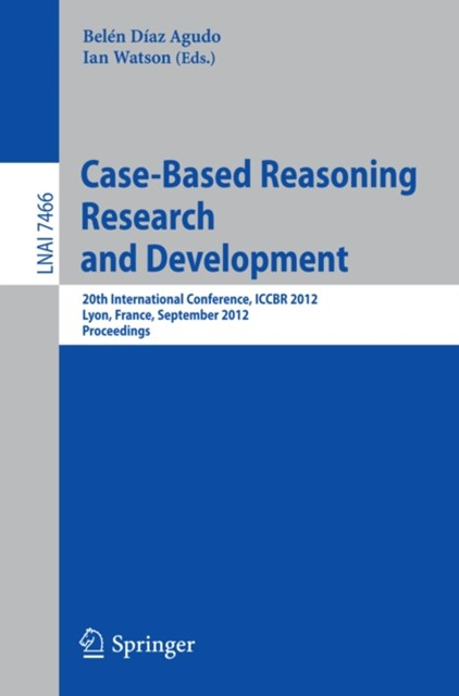 (ebook) Case-Based Reasoning Research and Development