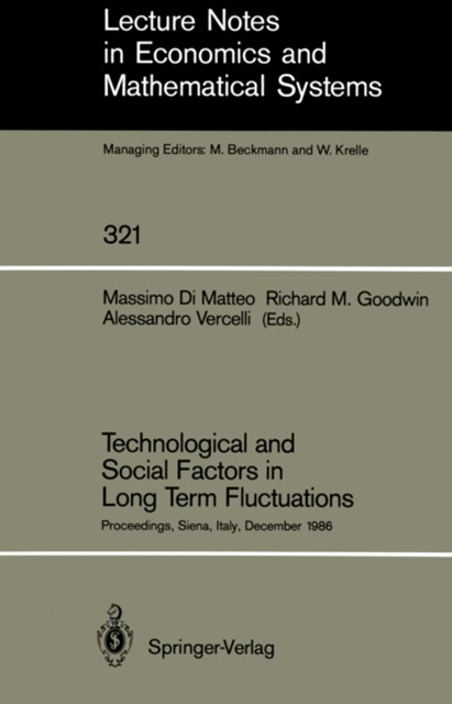 Technological and Social Factors in Long Term Fluctuations