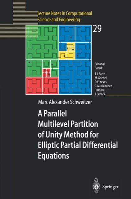 Parallel Multilevel Partition of Unity Method for Elliptic Partial Differential Equations
