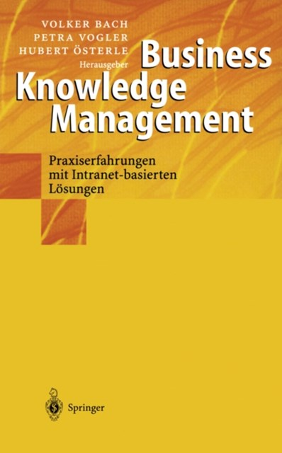 (ebook) Business Knowledge Management