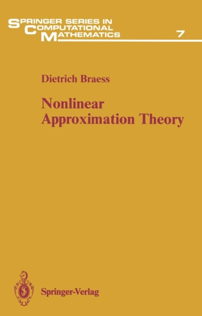 (ebook) Nonlinear Approximation Theory