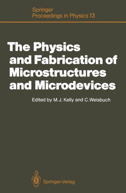 (ebook) Physics and Fabrication of Microstructures and Microdevices