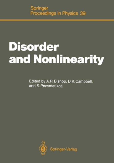 Disorder and Nonlinearity
