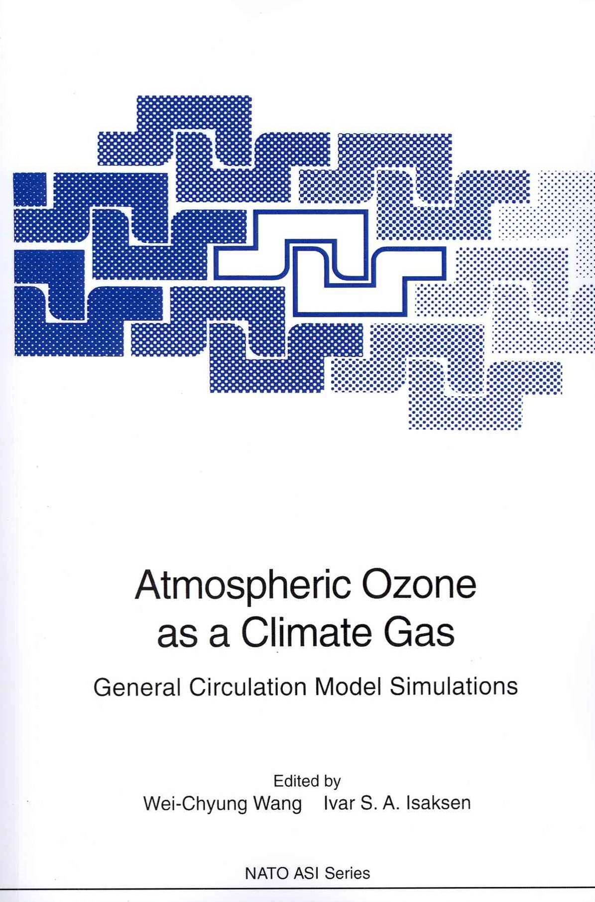 Atmospheric Ozone As a Climate Gas