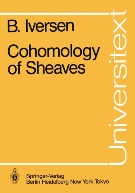 Cohomology of Sheaves