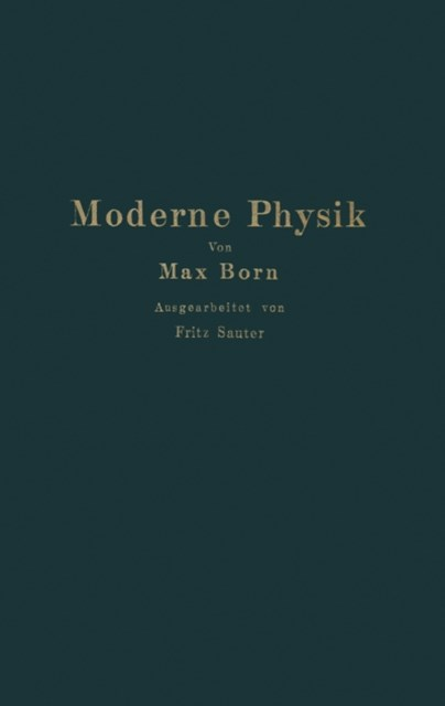 (ebook) Moderne Physik