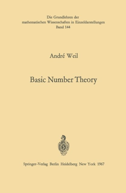 Basic Number Theory