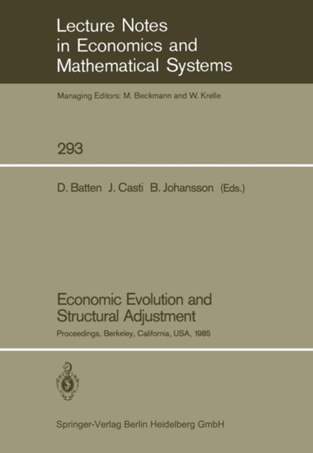 Economic Evolution and Structural Adjustment