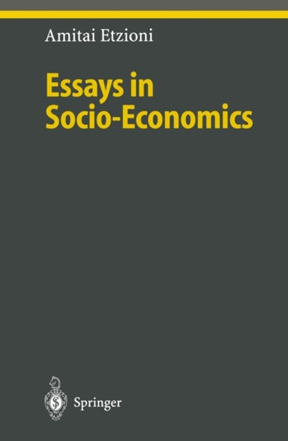 Essays in Socio-Economics
