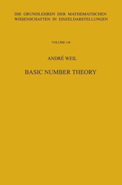 Basic Number Theory.