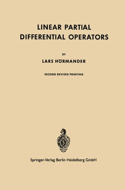 Linear Partial Differential Operators