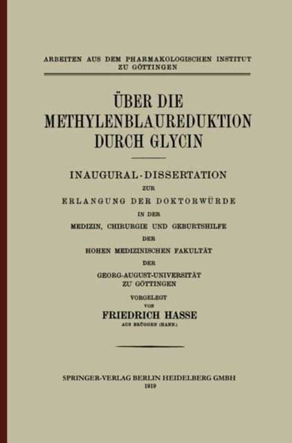Uber die Methylenblaureduktion durch Glycin