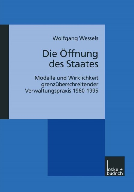 Die Offnung des Staates
