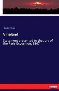 Vineland by Anonymus (9783743310988) - PaperBack - History