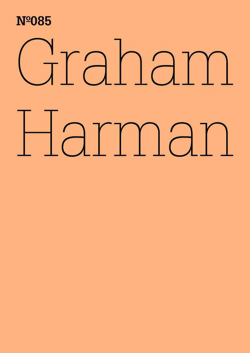 Graham Harman: the Third Table