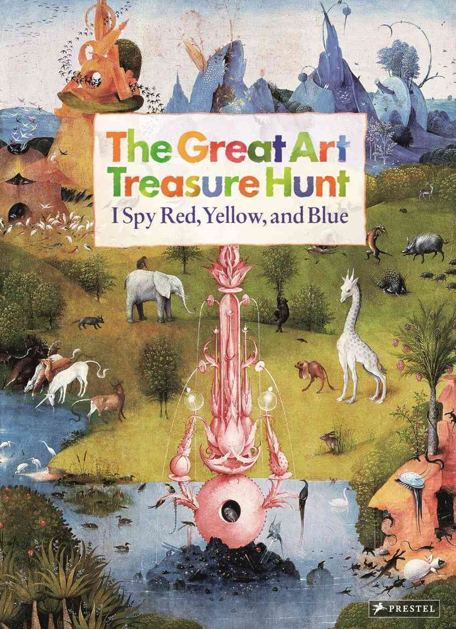 Great Art Treasure Hunt: I Spy Red, Yellow, and Blue