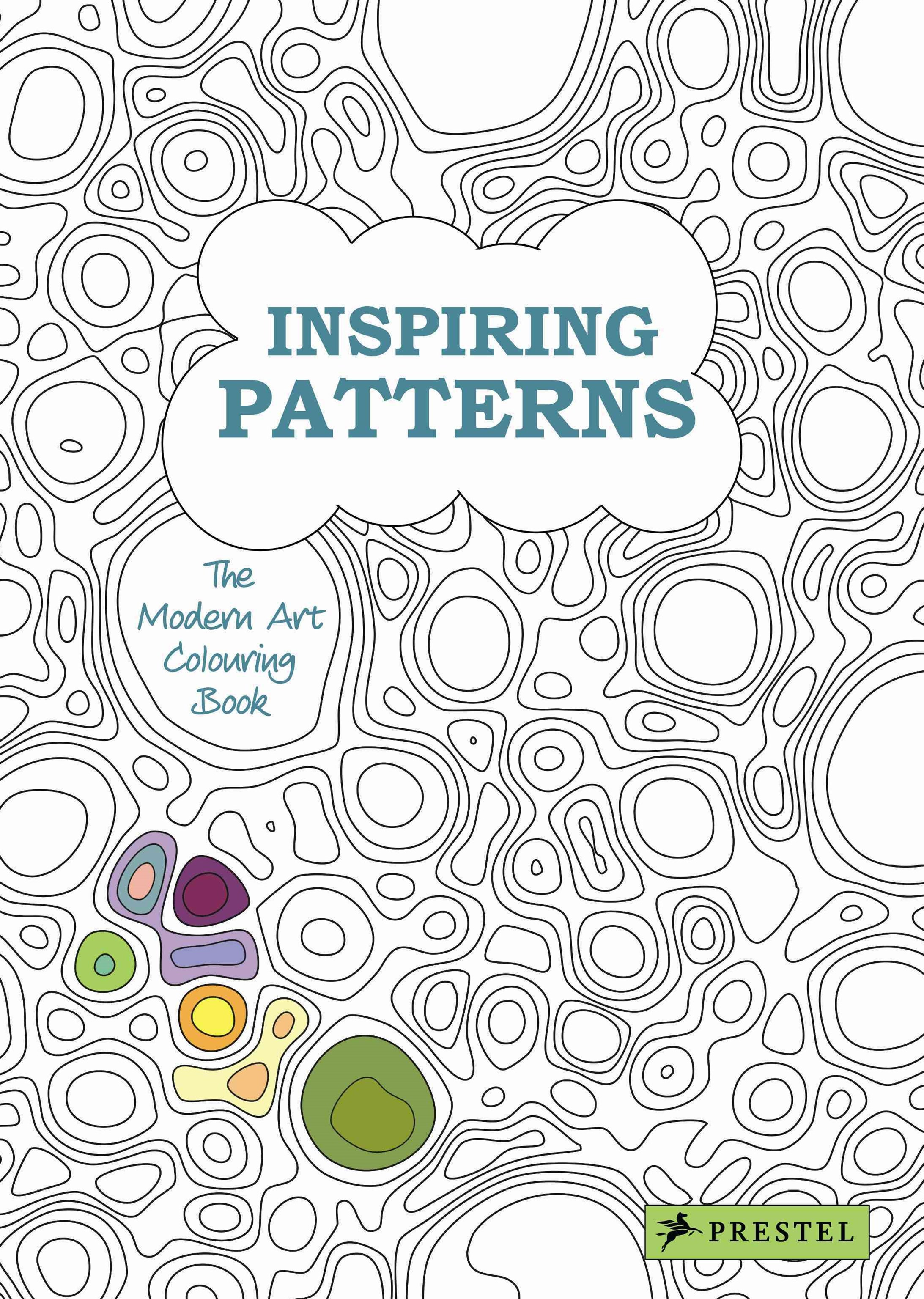 Inspiring Patterns: Modern Art Colouring Book