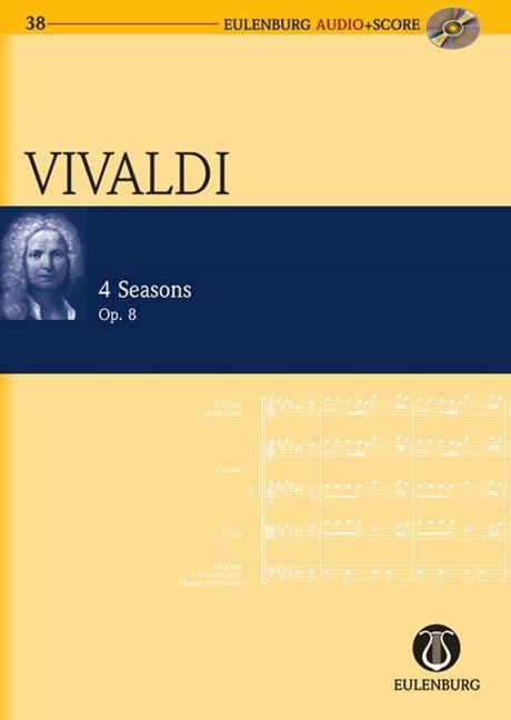 THE FOUR SEASONS OP. 8 RV 269, 315, 2937