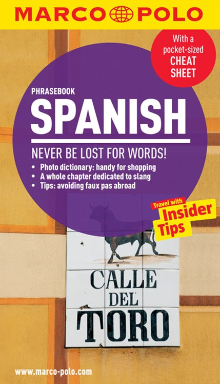 Spanish Marco Polo Phrasebook