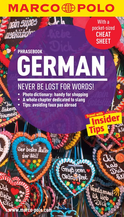 German Marco Polo Phrasebook