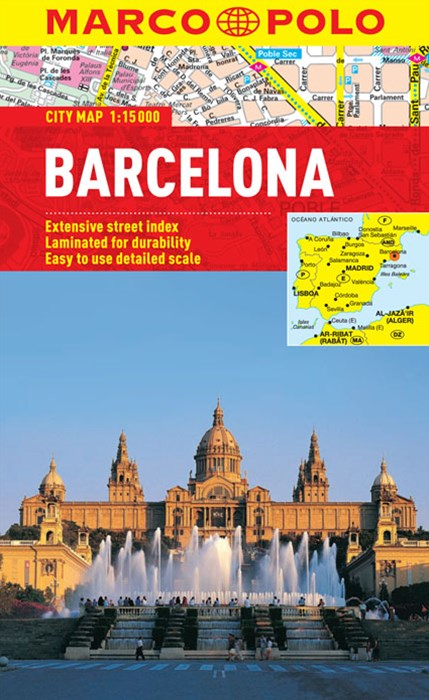 Barcelona Marco Polo City Map