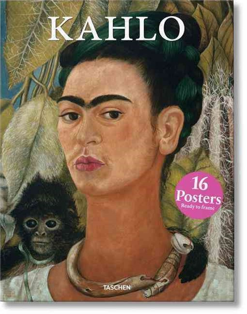 KAHLO POSTER BOX 16 PRINTS