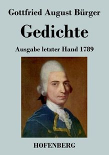 Gedichte by Gottfried August Burger (9783843036993) - PaperBack - Poetry & Drama Poetry