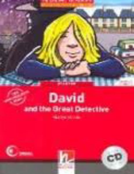 David and the Great Detective (Level 1) with Audio CD