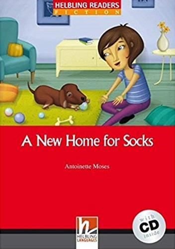 A New Home for Socks with Audio CD
