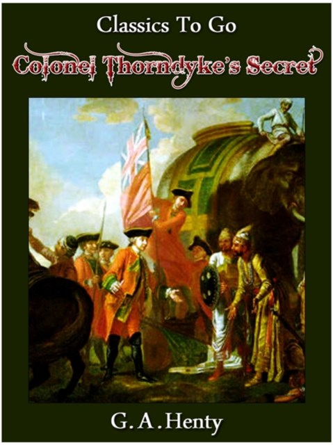 (ebook) Colonel Thorndyke's Secret
