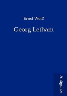 Georg Letham by Ernst Wei (9783954721573) - PaperBack - Modern & Contemporary Fiction Literature
