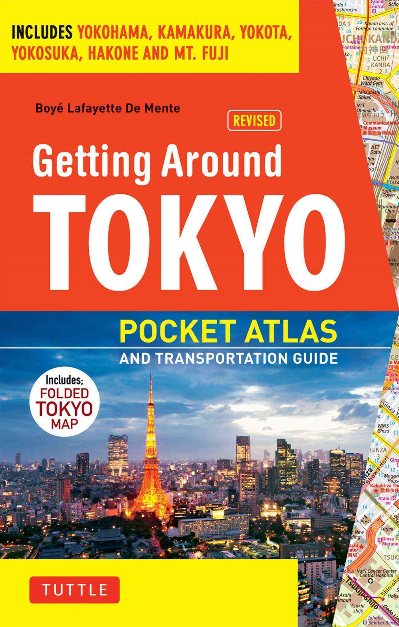 Tokyo Pocket Atlas and Transportation Guide