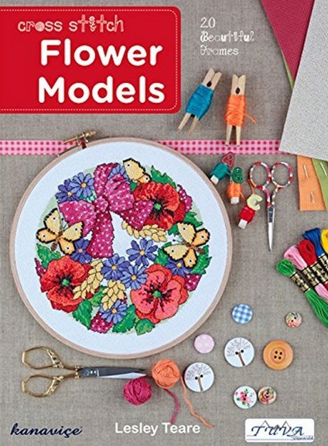 Cross Stitch Flower Models: 20 Beautiful Frames