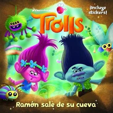 Trolls. Ramón Sale de Su Cueva / Out of Branch's Bunker (DreamWorks)