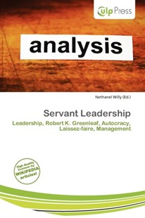 Servant Leadership by Nethanel Willy (9786201931824) - PaperBack - Social Sciences Sociology