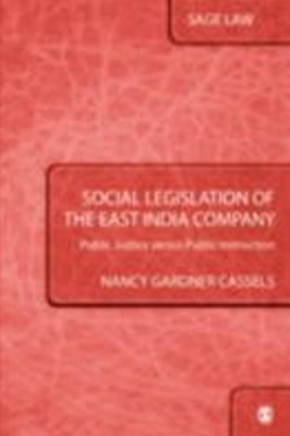 Social Legislation of the East India Company