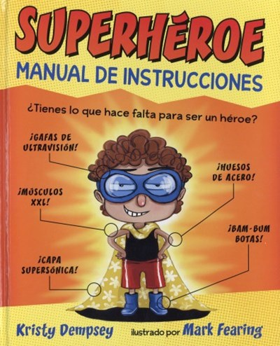 Superheroe manual de instrucciones / Superhero-Instruction Manual