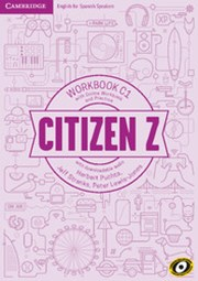 Citizen Z C1 Workbook with Online Workbook and Practice, with Downloadable Audio