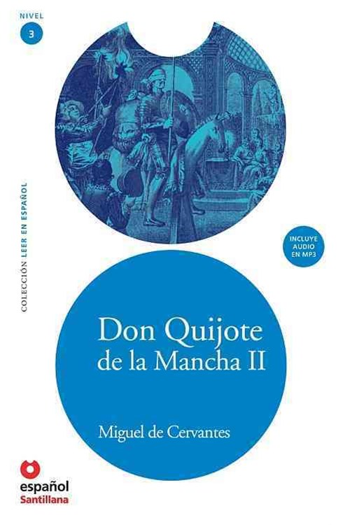 Don Quijote de la Mancha Ii (Adaptaci+¦n) + Cd