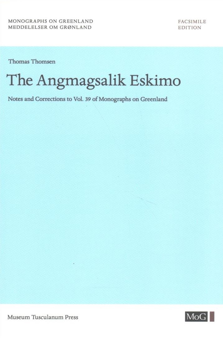 The Angmagsalik Eskimo