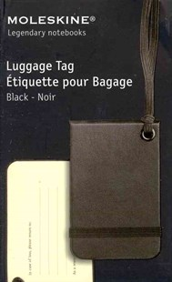 Moleskine Luggage Tag Black by  (9788862938860) - General Merchandise - Bags & Carry