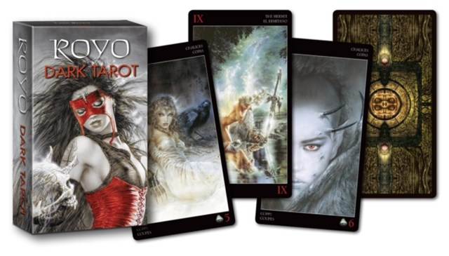 Mini Royo Dark Tarot Deck