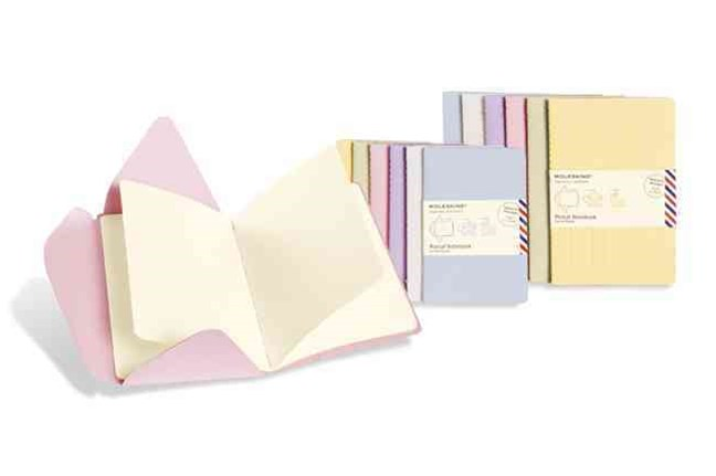 Moleskine Postal Notebook Persian Lilac Pocket