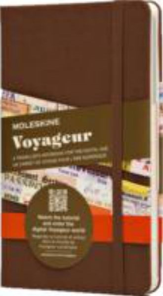 Moleskine - Traveller's Voyageur Notebook - Medium - Brown