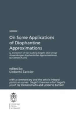 (ebook) On Some Applications of Diophantine Approximations